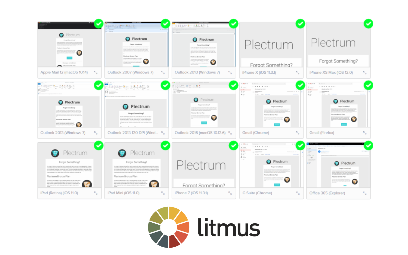 Tested with Litmus
